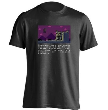 O Adam Piksel Macera Skeletor Grayskull Kale Mens & Womens Serin T Shirt